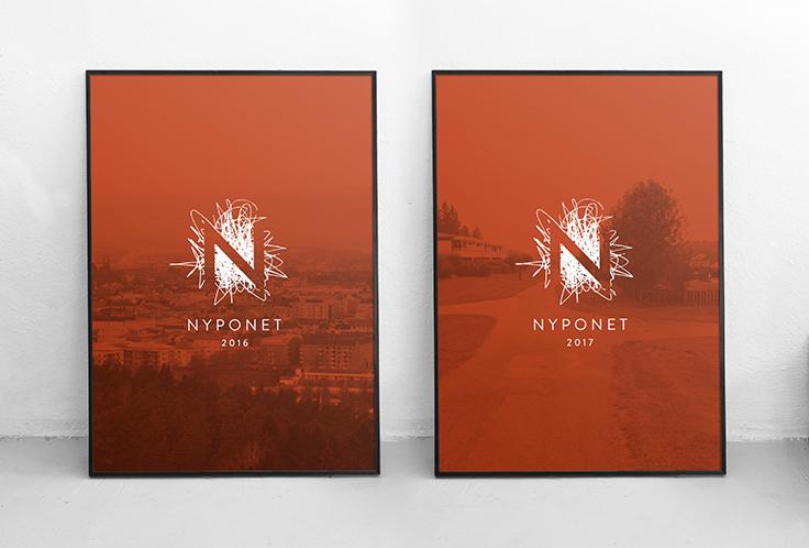 Boske-affisch-logo-design-Nyponet